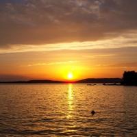 Crikvenica---zachod-sonca